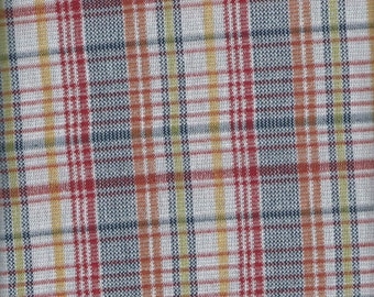 VINTAGE Multicolored plaid
