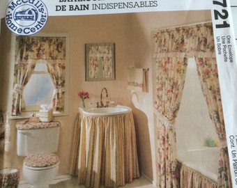 McCall's Home Decorating Pattern 2721 New