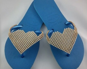 Pink or Blue Havaianas® Sandals 610064