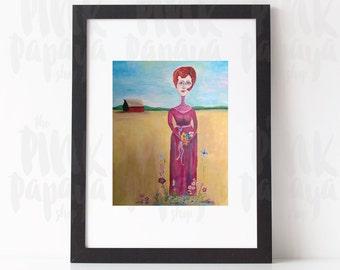 The Barn 8x10 digital print | Fanny Alger