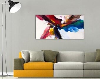 Vibrant Splash Wall Painting Decor