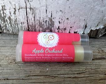 Kids Organic Lip Balm: Apple Orchard