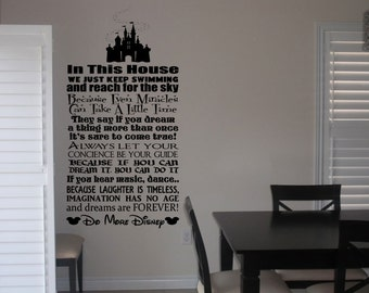 Domore disney vinyl wall art decal sticker quote