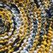 Bumble Bee Rag Rug