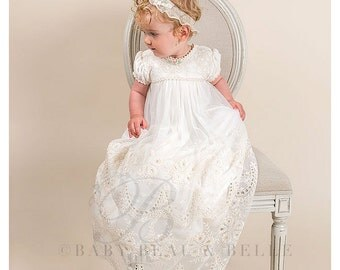 Christening Gown, Clementine Baptism Gown