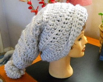 Handcrafted, Crocheted, Oversized Slouch Hat
