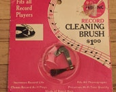 Vintage Record Cleaning Brush