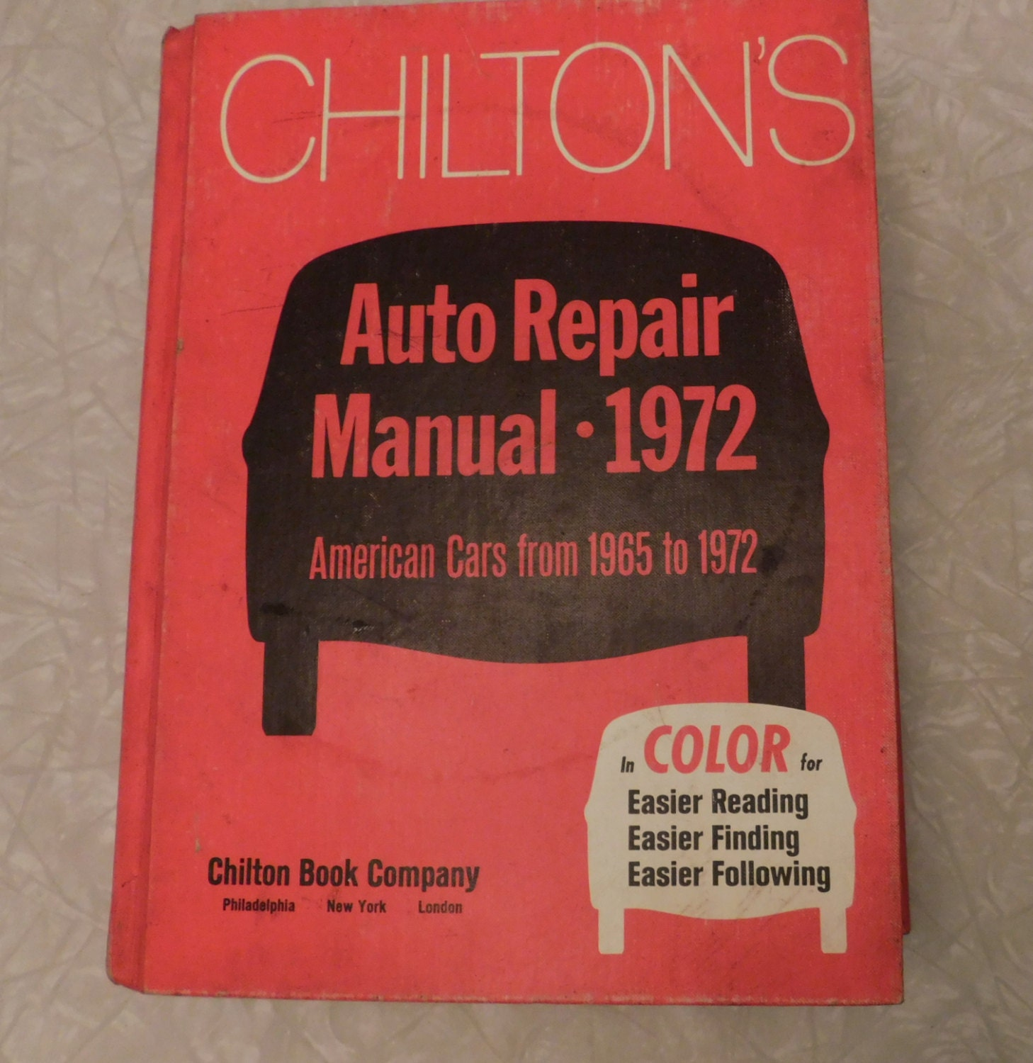 chilton s auto repair manual 1972  american cars 1965 1972 Transit Manuals Bus Speciufication M1aintenance 2980 X Weight System Manual