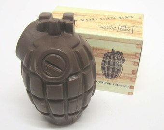 Solid Chocolate Hand Grenade