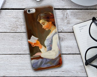 Belle iPhone Case - Belle Reading iPhone Case - Beauty and the Beast Case - Beauty and the Beast iPhone Case - Beauty and the Beast