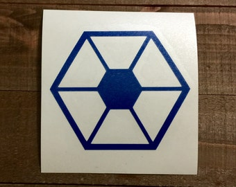 Star Wars Separatists Decal
