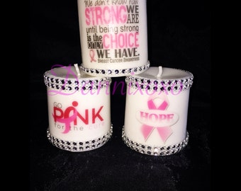 BCA Candles (Trio) Set