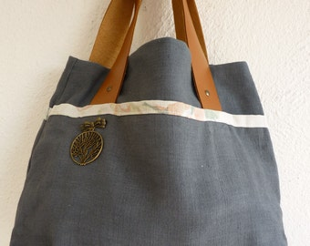 Tote Bag / Handbag cotton vintage
