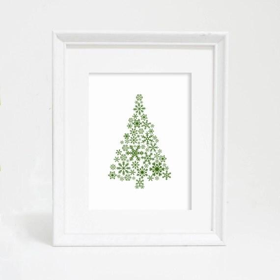Christmas Printable Art, Printable Sign Wall Art, Christmas Print, Christmas Decor, Christmas Tree Print, Christmas Tree Art, Holiday Decor