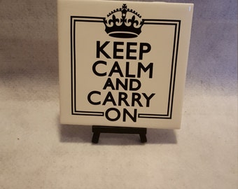 Ceramic Keep Calm TIle