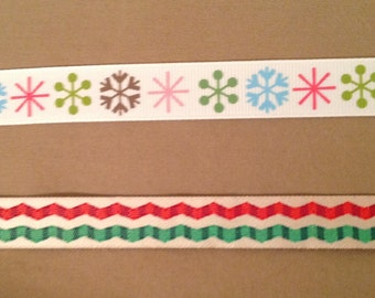 3/4 Wide Custom Made Pick Your Pattern Christmas Dog Collar