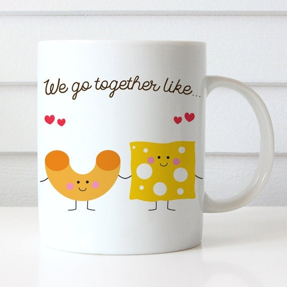 Coffee Mug Best Friends We Go Together Like Mac and Cheese - Best Friends Mug