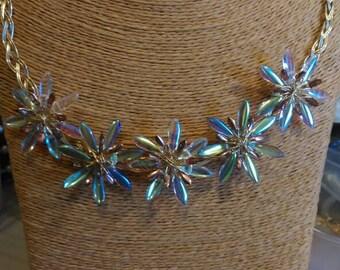 Collar Czech glass necklace