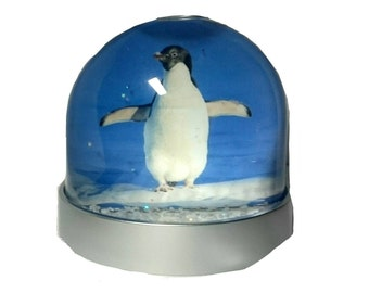 Penguin Bird - Glitter/Snow Globe, Snowglobe, Dome