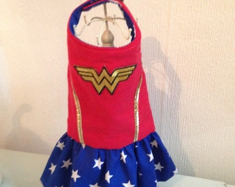 Wonder woman harness dress