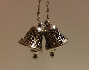 Vintage Sterling Silver Bells