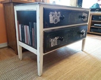 Stunning and unique storage drawers/chest of drawers