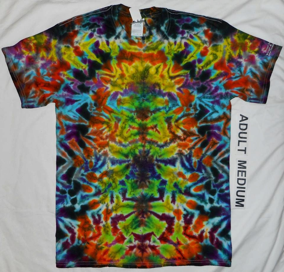 how to make tie dye weed shirt