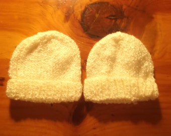 Ivory Baby hat