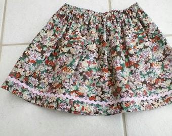 Girls' Skirt - Liberty Country Cotton
