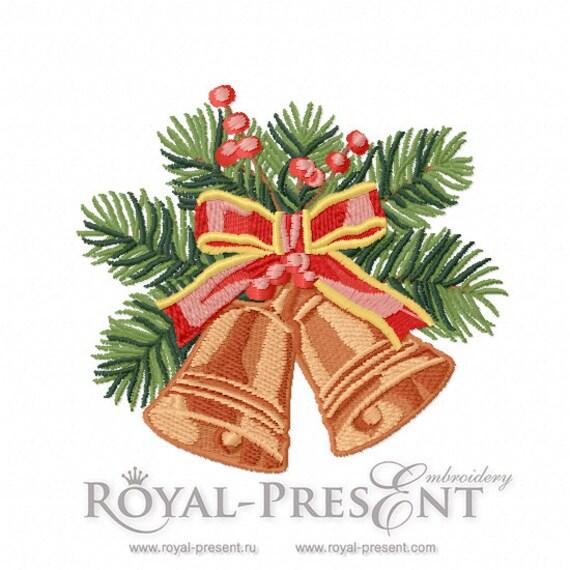 Machine embroidery design vintage christmas by royalpresentemb