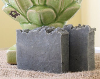All-Natural Activated Charcoal Handmade Vegan Soap