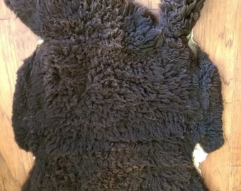 Tanned Pelt - 100% Romeldale CVM Wool