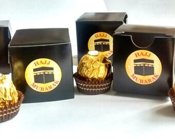 Hajj Mubarak boxes 10 pack hajj present hajj gift hajj box hajj gifts wholesale
