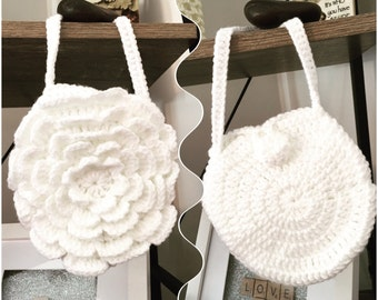 Girls Crochet Bag
