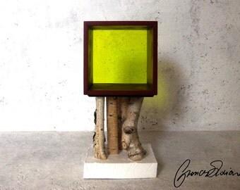 Bedside Table - Comodino - Cabinet - Mobiletto - serie Bianconiglio