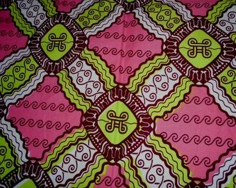 Wax Print - Julius Holland - Cotton fabric