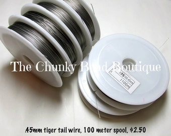 Wire .45mm tiger tail