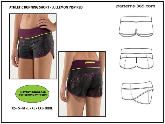 Attractive Running Shorts Sewing Pattern Elaboration - Easy Scarf ...