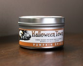 Halloween Town (Pumpkin) - 8 oz Soy Candle