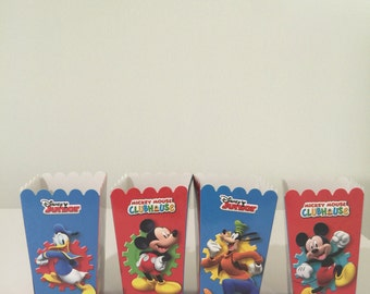 Mickey Cloubhouse Snack boxes