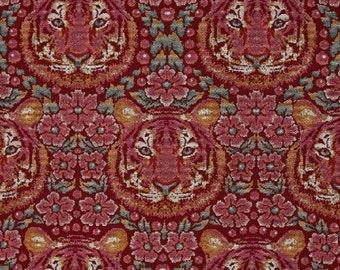 Free Spirit Tula Pink Eden Crouching Tiger PWTP077 Tourmaline Fabric  By The Yard