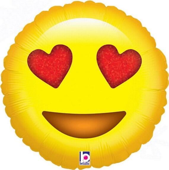 EMOJI Balloon / Emoji Love Balloons / Emoji / Emoji