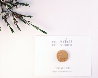 Chocolate coin wedding favour/gift, Wedding ideas, Gold, Silver, Party Favours