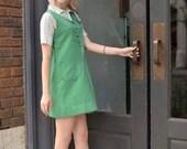 1970s 2 piece girl scout uniform