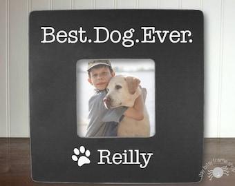 Personalized Dog Frame Personalized Pet Frame Gift for Pet Lover Gift Custom Pet Frame Custom Dog Frame Best Dog Ever IB3FSPET