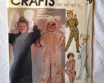 McCalls 2624 Animal Costume, Child 6