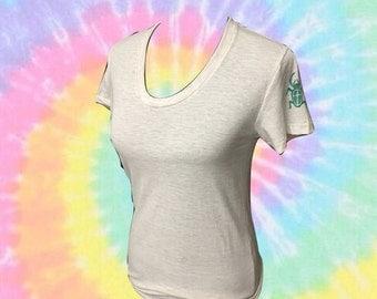 American apparel size medium bug sleeve tee