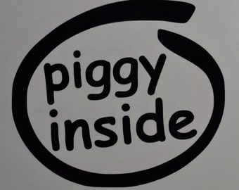 Piggy Inside Decals