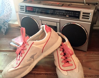 Kangaroos Lace Up Sneakers 80's Size 10