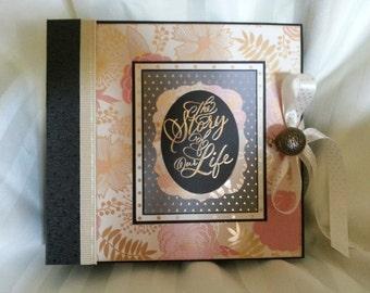 Floral Wedding Album